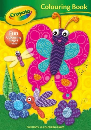 Crayola Colouring Book Butterfly